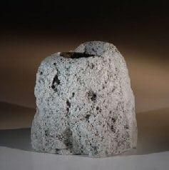 Lava Rock Bonsai Pot 3 - 6 Tall