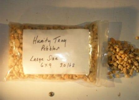 Humidity/Drip Tray Bonsai Pebbles - Large 3.0 lbs.