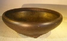 Round Mica Bonsai Pot - 10.5 x 3.5